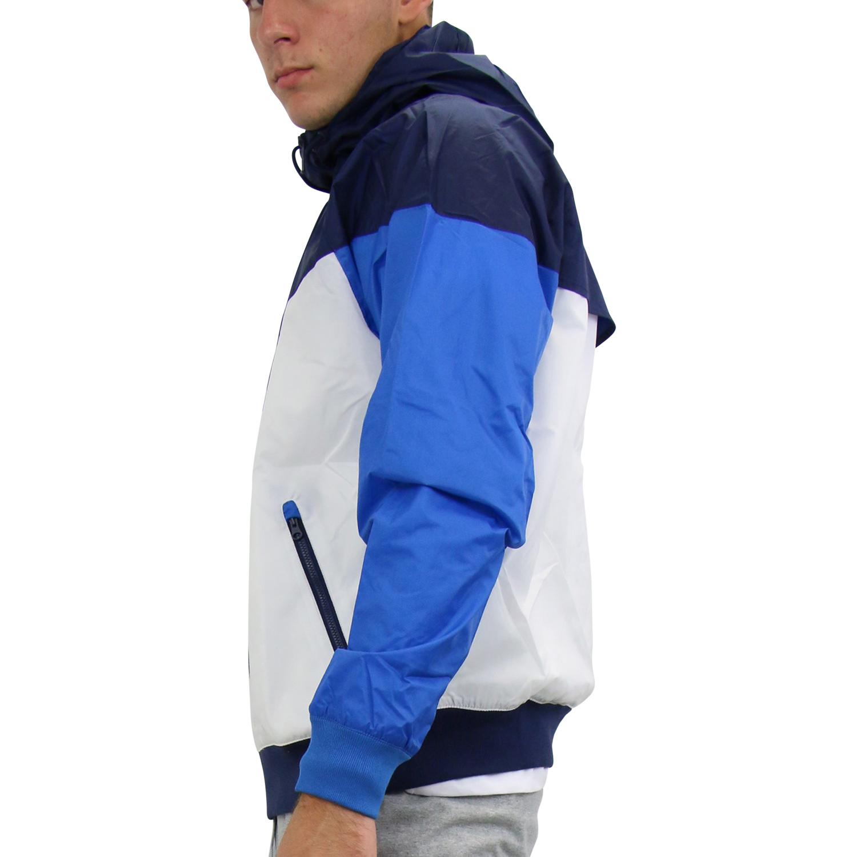 Details zu Nike Sportswear Windrunner Windbreaker Jacke Windjacke Herren Weiss AR2191 122