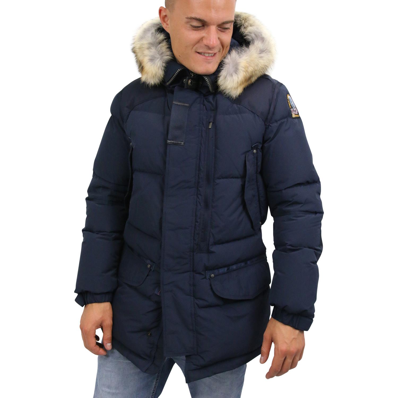 Details zu Parajumpers Harraseeket Parka Winterjacke Jacke Herren Blau 18WMPMJCKHF03 560