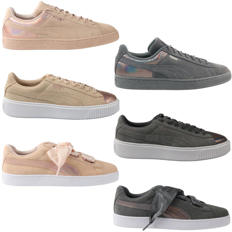 Puma Suede Platform Heart LunaLux Sneaker Schuhe Damen