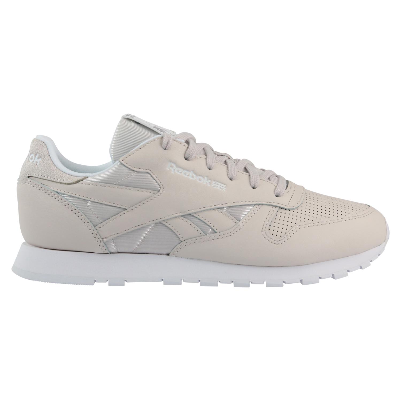 8983edc60227 Reebok Classic Leather FBT Schuhe Turnschuhe Sneaker Damen Grau ...