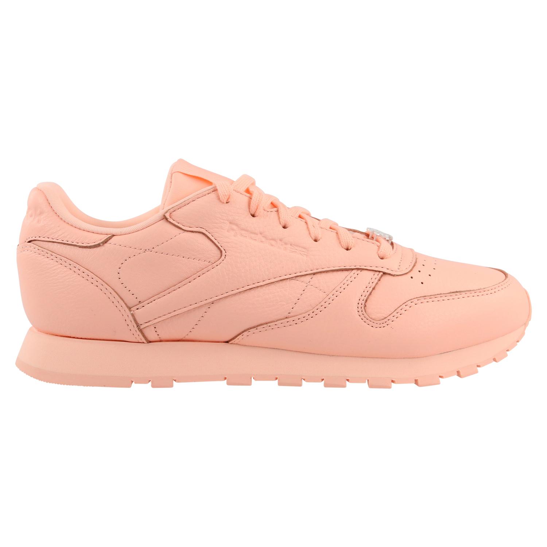 Details zu Reebok Classic Leather L Schuhe Sneaker Damen BS7912 Pfirsich