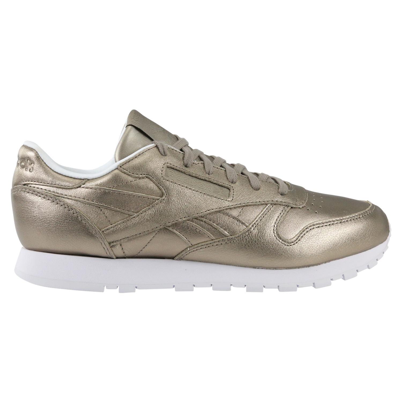 Details zu Reebok Classic Leather Sneaker Turnschuhe Gold Damen BS7898