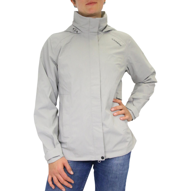 sch ffel easy l ii damen jacket jacke regenjacke windjacke hellgrau ebay. Black Bedroom Furniture Sets. Home Design Ideas