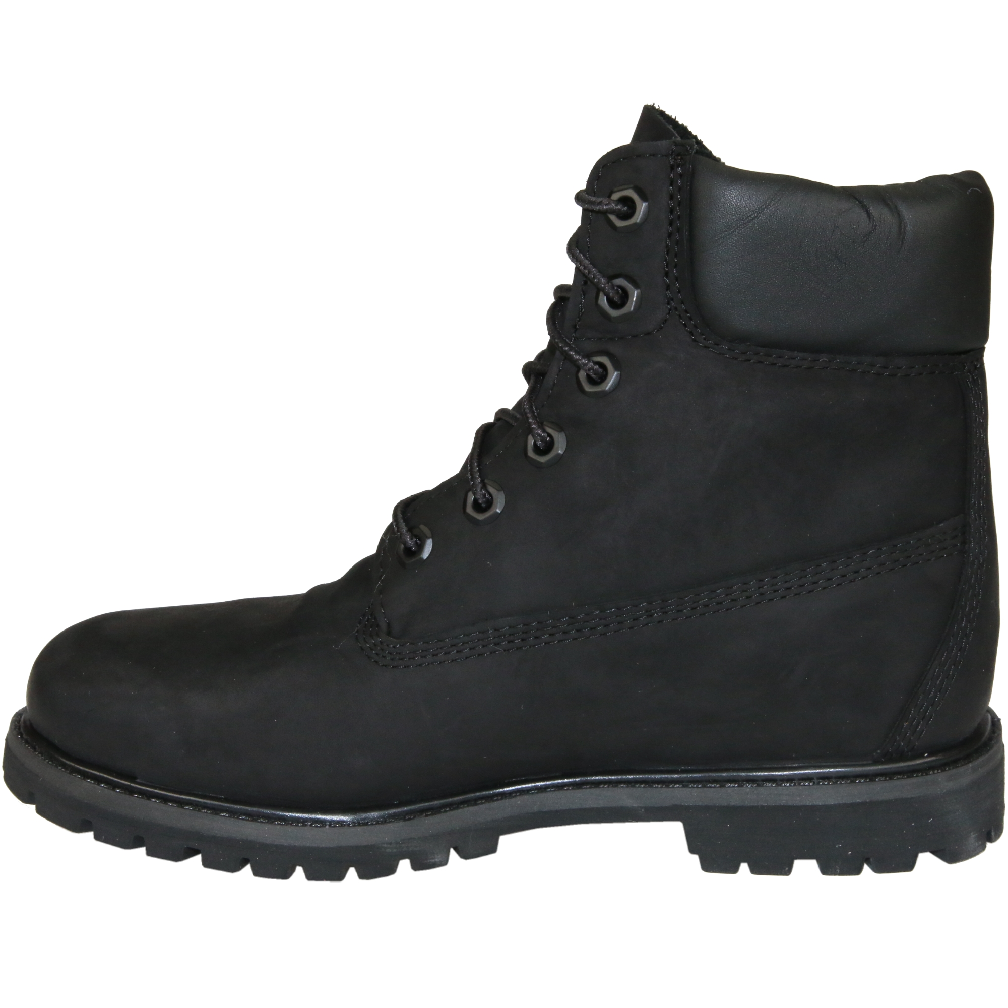 timberland 6 inch premium boot schuhe stiefel winterstiefel damen schwarz 8658a ebay. Black Bedroom Furniture Sets. Home Design Ideas