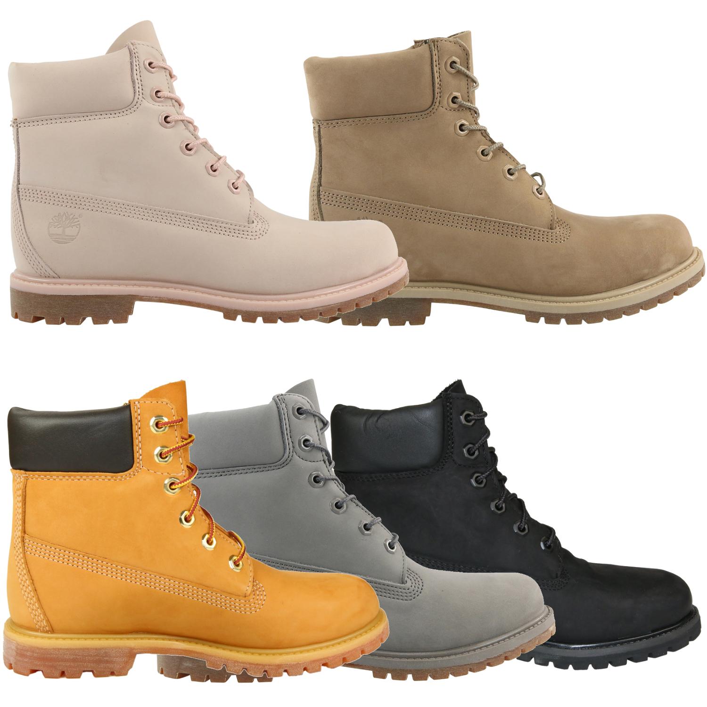 Details zu Timberland 6 Inch Premium Boots Damen Schuhe Stiefel Winterstiefel Outdoor
