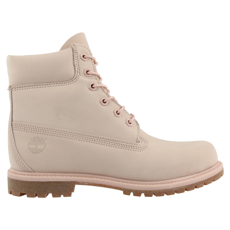 timberland damen 6 inch icon boot pastellrosa