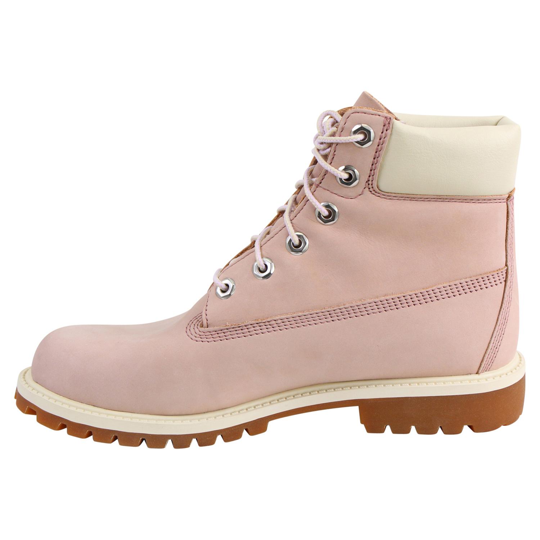 TIMBERLAND 6 INC BOOTS Damen Stiefel Winterstiefel Rosa Pink