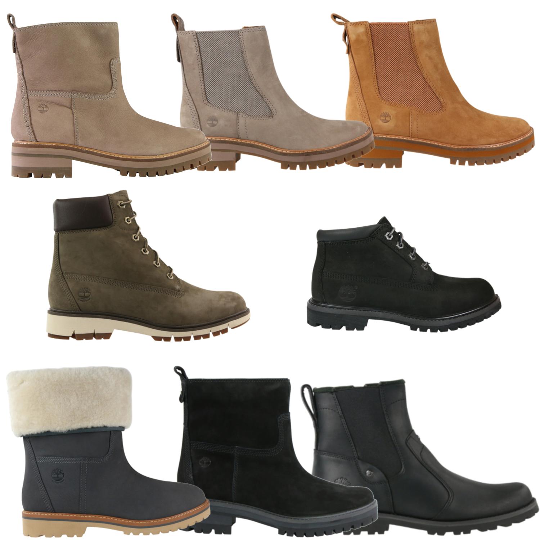 Details zu Timberland Schuhe Stiefel Winterschuhe Winterschuhe Boots Damen Leder Chelsea