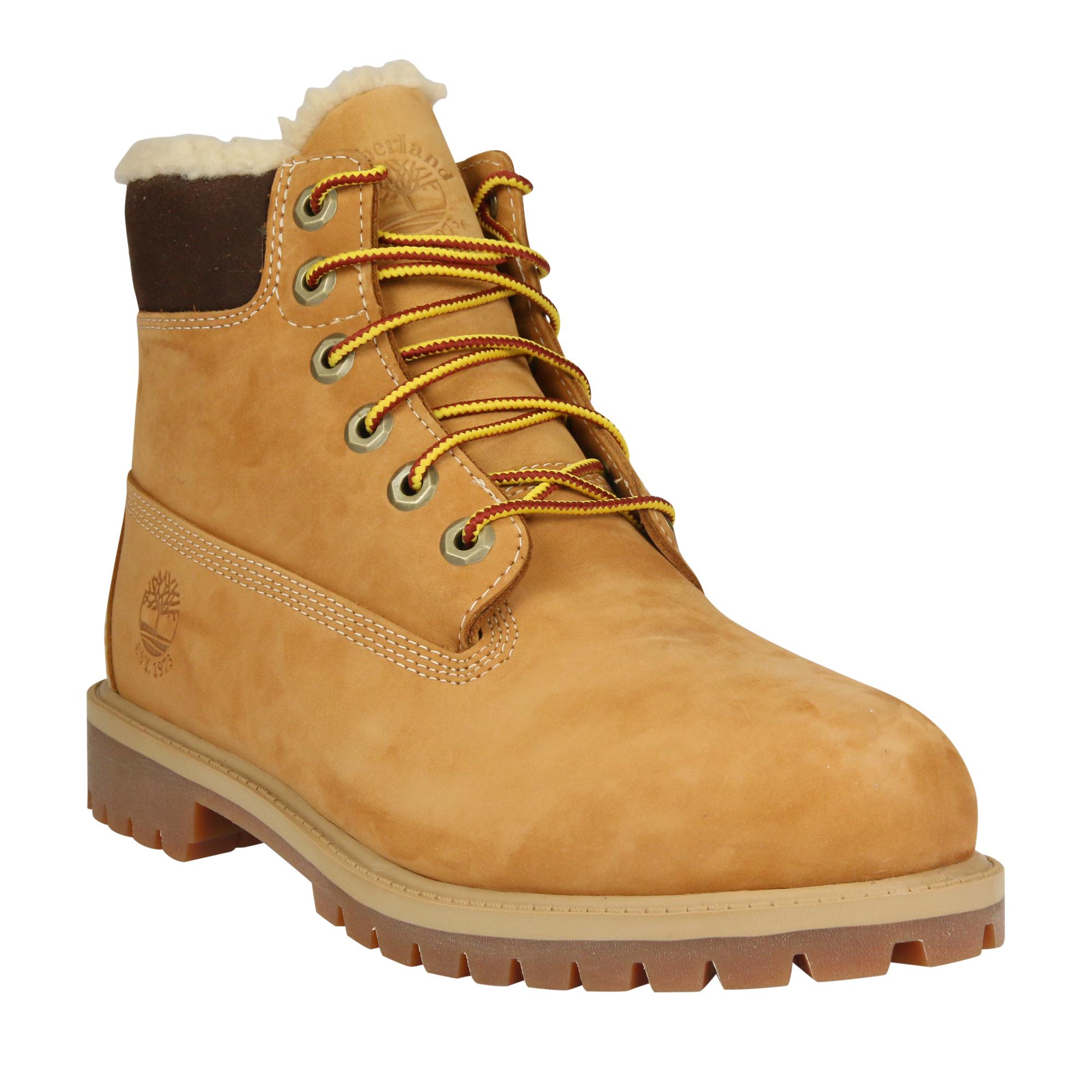 Timberland-6-Inch-Junior-Classic-Waterproof-Boot-Schuhe-Winterstiefel-Madchen
